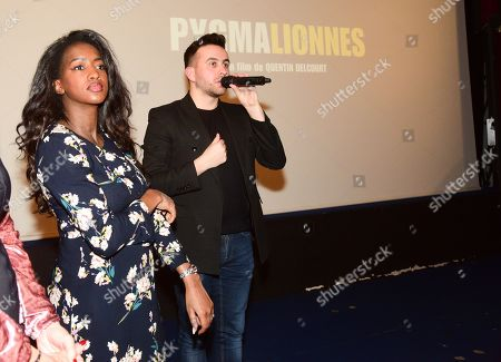 Hapsatou Sy and Quentin Delcourt