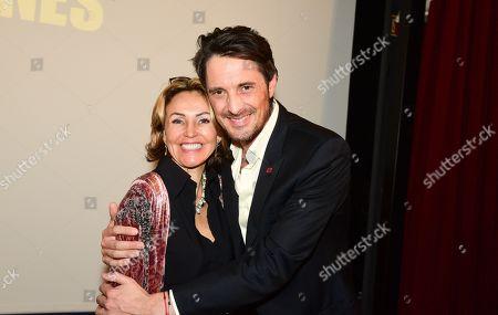 Marie Chretien-Franceschini and Vincent Cerutti