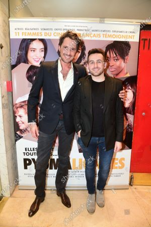 Vincent Cerutti and Quentin Delcourt