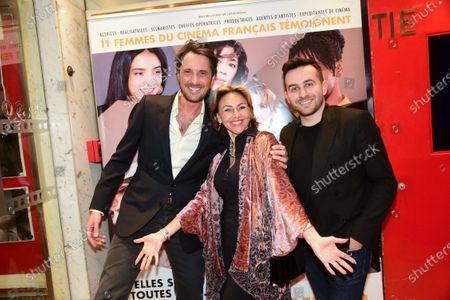 Vincent Cerutti, Marie Chretien-Franceschini and Quentin Delcourt