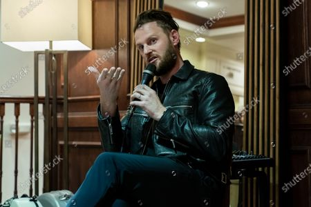 American Interior designer and reality television personality Bobby Berk attends the Art & Design Gallery Opening at Louis Shanks Furniture