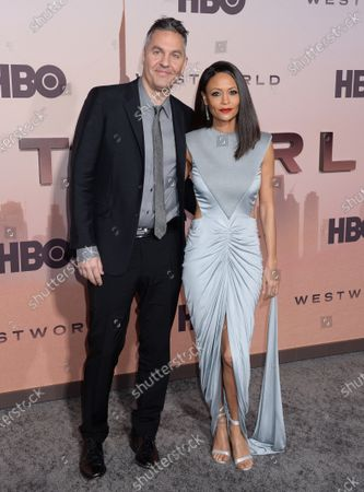 Stock Photo of Thandie Newton and Ol Parker