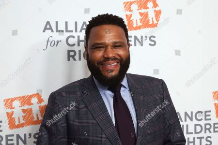 Anthony Anderson arrives at The Alliance for Children's Rights 28th Annual Dinner at The Beverly Hilton, in Beverly Hills, Calif