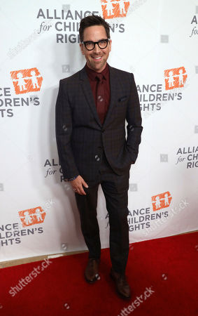 Dan Bucatinsky arrives at The Alliance for Children's Rights 28th Annual Dinner at The Beverly Hilton, in Beverly Hills, Calif