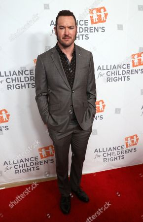 Mark-Paul Gosselaar arrives at The Alliance for Children's Rights 28th Annual Dinner at The Beverly Hilton, in Beverly Hills, Calif