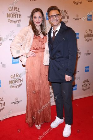 Stock Photo of Laura Osnes and Nathan Johnson