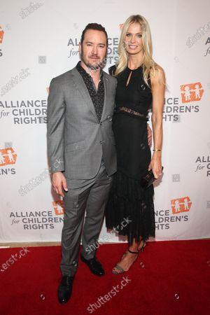Stock Photo of Mark-Paul Gosselaar and Catriona McGinn