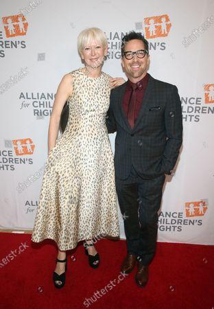 Joanna Coles and Dan Bucatinsky