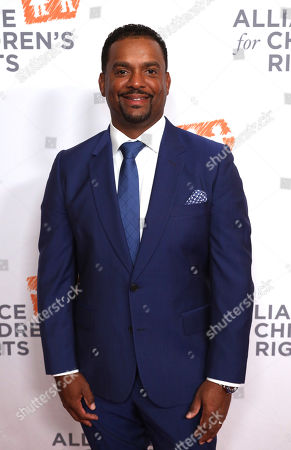 Stock Image of Alfonso Ribeiro arrives at The Alliance for Children's Rights 28th Annual Dinner at The Beverly Hilton, in Beverly Hills, Calif