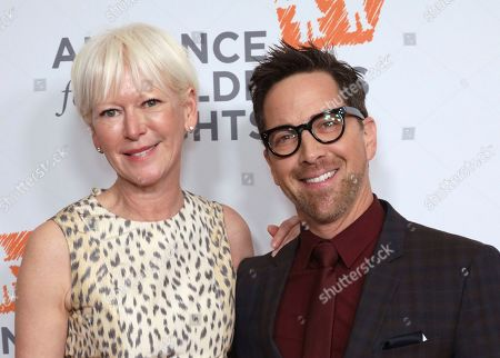 Joanna Coles, Dan Bucatinsky. Joanna Coles, left, and Dan Bucatinsky arrive at The Alliance for Children's Rights 28th Annual Dinner at The Beverly Hilton, in Beverly Hills, Calif