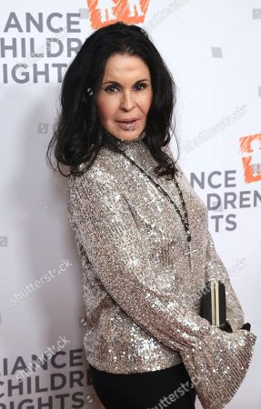 Maria Conchita Alonso arrives at The Alliance for Children's Rights 28th Annual Dinner at The Beverly Hilton, in Beverly Hills, Calif