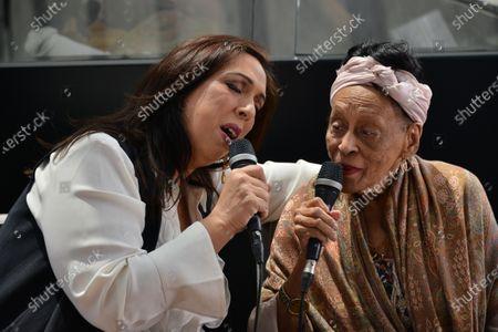 Mexican soprano Regina Orozco and Cuban singer Omara Portuondo