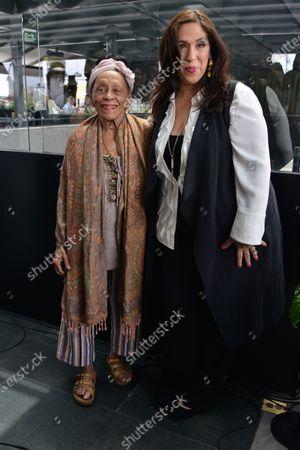 Editorial photo of Omara Portuondo & Regina Orozco 'Pedazos del Corazon' album launch, Umbral, Mexico City, Mexico - 05 Mar 2020