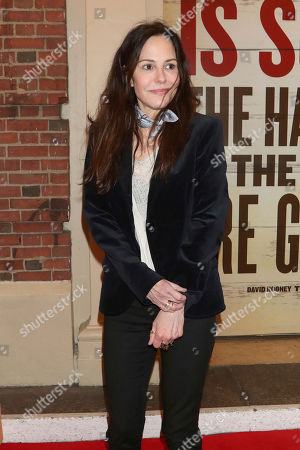 """Mary-Louise Parker attends the Broadway opening night of """"Girl From The North Country"""" at the Belasco Theatre, In New York"""