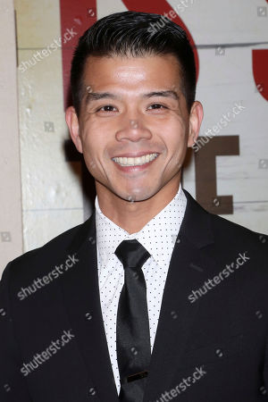 """Stock Picture of Telly Leung attends the Broadway opening night of """"Girl From The North Country"""" at the Belasco Theatre, In New York"""