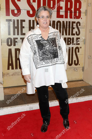 "Stock Photo of Rosie O'Donnell attends the Broadway opening night of ""Girl From The North Country"" at the Belasco Theatre, In New York"