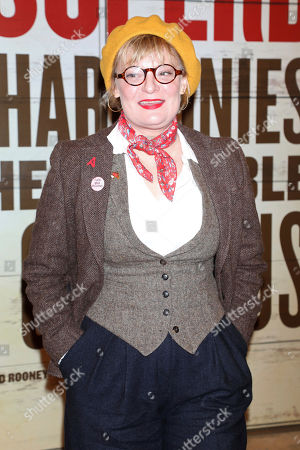 """Stock Photo of Martha Plimpton attends the Broadway opening night of """"Girl From The North Country"""" at the Belasco Theatre, In New York"""
