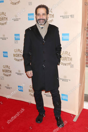 """Tony Shalhoub attends the Broadway opening night of """"Girl From The North Country"""" at the Belasco Theatre, In New York"""