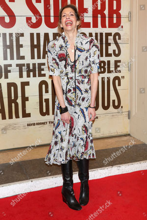 "Alysia Reiner attends the Broadway opening night of ""Girl From The North Country"" at the Belasco Theatre, In New York"