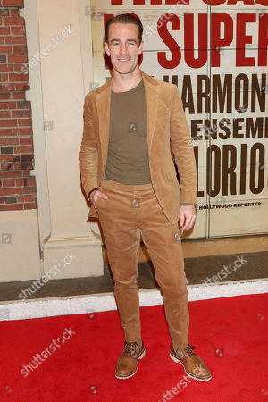"Stock Photo of James Van Der Beek attends the Broadway opening night of ""Girl From The North Country"" at the Belasco Theatre, In New York"