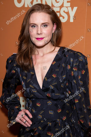 "Christiane Seidel attends a screening of ""The Burnt Orange Heresy"", hosted by Sony Pictures Classics with The Cinema Society, at the Roxy Cinema, in New York"