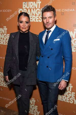 """Editorial picture of NY Special Screening of """"The Burnt Orange Heresy"""", New York, USA - 05 Mar 2020"""