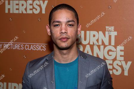 """Stock Picture of Jeremy Carver attends a screening of """"The Burnt Orange Heresy"""", hosted by Sony Pictures Classics with The Cinema Society, at the Roxy Cinema, in New York"""