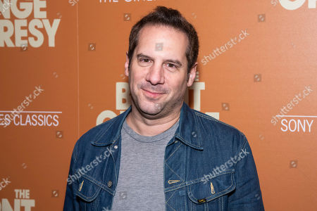 """Stock Picture of Seth Herzog attends a screening of """"The Burnt Orange Heresy"""", hosted by Sony Pictures Classics with The Cinema Society, at the Roxy Cinema, in New York"""