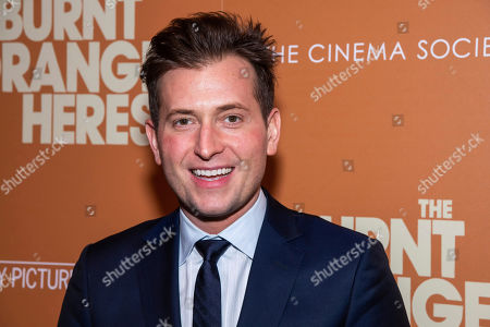 """Peter Cincotti attends a screening of """"The Burnt Orange Heresy"""", hosted by Sony Pictures Classics with The Cinema Society, at the Roxy Cinema, in New York"""