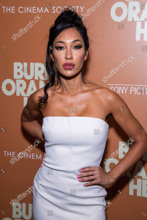"""Stock Photo of Kea Ho attends a screening of """"The Burnt Orange Heresy"""", hosted by Sony Pictures Classics with The Cinema Society, at the Roxy Cinema, in New York"""