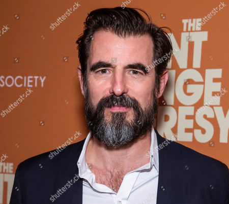"""Claes Bang attends a screening of """"The Burnt Orange Heresy"""", hosted by Sony Pictures Classics with The Cinema Society, at the Roxy Cinema, in New York"""