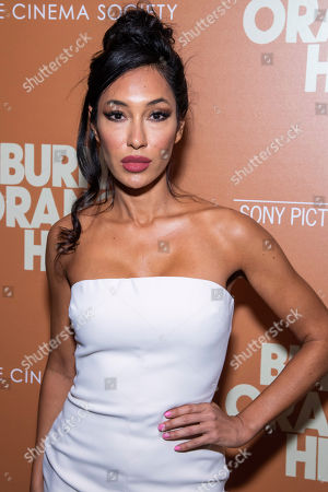 """Kea Ho attends a screening of """"The Burnt Orange Heresy"""", hosted by Sony Pictures Classics with The Cinema Society, at the Roxy Cinema, in New York"""