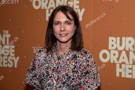 """Stock Picture of Dolly Wells attends a screening of """"The Burnt Orange Heresy"""", hosted by Sony Pictures Classics with The Cinema Society, at the Roxy Cinema, in New York"""
