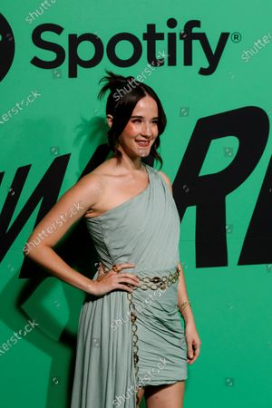 Ximena Sarinana poses as she arrives to the Spotify Awards 2020 in Mexico City, Mexico, 05 March 2020.