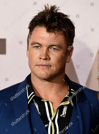 """Luke Hemsworth, a cast member in the HBO series """"Westworld,"""" poses at the season three premiere of the show at the TCL Chinese Theatre, in Los Angeles"""