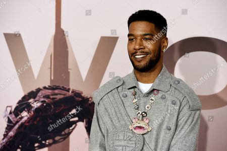 "Scott Mescudi, Kid Cudi. Scott Mescudi, aka rapper ""Kid Cudi,"" poses at the Season 3 premiere of the HBO series ""Westworld"" at the TCL Chinese Theatre, in Los Angeles"