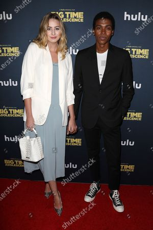 Stock Image of Jessica Taylor and Luda Weigand