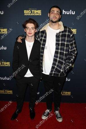 Thomas Barbusca and Noah Centineo