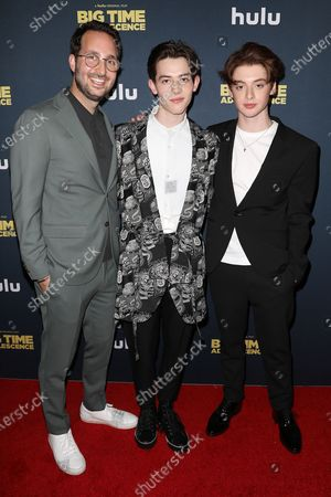 Jason Orley (Director), Griffin Gluck and Thomas Barbusca