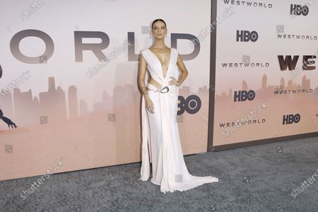 Angela Sarafyan arrives for the premiere of season three of the HBO drama series WESTWORLD at the TCL Chinese Theatre IMAX in Hollywood, California, USA, 05 March 2020. The series will air in the USA on 15 March 2020.