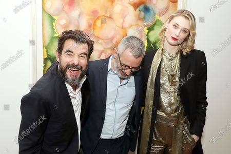 Stock Picture of Claes Bang, Giuseppe Capotondi (Director), Elizabeth Debicki