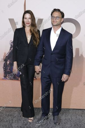 Stock Picture of Brittany Rice (L) and German actor Thomas Kretschmann (R) arrive for the premiere of season three of the HBO drama series WESTWORLD at the TCL Chinese Theatre IMAX in Hollywood, California, USA, 05 March 2020. The series will air in the USA on 15 March 2020.