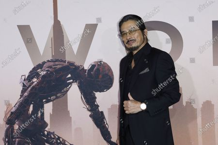 Hiroyuki Sanada arrives for the premiere of HBO series Westworld season three the TCL Chinese Theatre in Hollywood, Los Angeles, California, USA 05 March 2020. The series will air in the USA on 15 March 2020.