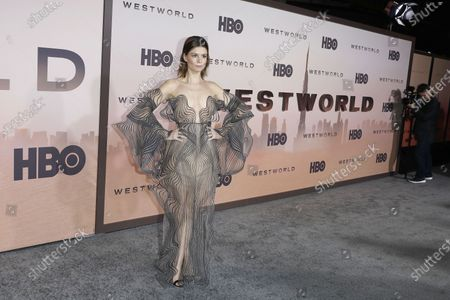Katja Herbers arrives for the premiere of HBO series Westworld season three the TCL Chinese Theatre in Hollywood, Los Angeles, California, USA 05 March 2020. The series will air in the USA on 15 March 2020.