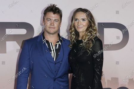 Stock Photo of Luke Hemsworth and Samantha Hemsworth  arrive for the Los Angeles Season 3 Premiere of the HBO Drama Series WESTWORLD at the TCL Chinese Theatre IMAX in Hollywood, Los Angeles, California, USA 05 March 2020. The one-hour drama series kicks off its eight-episode season in the US 15 March 2020.