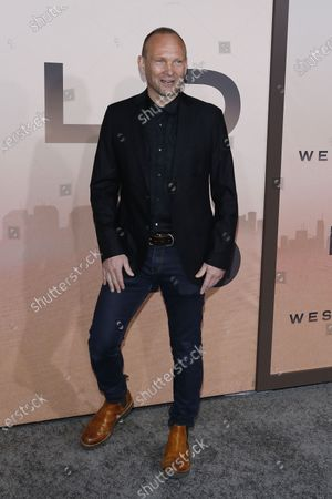 Andrew Howard arrives for the Los Angeles Season 3 Premiere of the HBO Drama Series WESTWORLD at the TCL Chinese Theatre IMAX in Hollywood, Los Angeles, California, USA 05 March 2020. The one-hour drama series kicks off its eight-episode season in the US 15 March 2020.