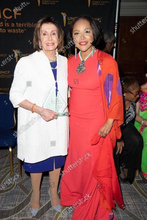 Stock Photo of (L-R) Nancy Pelosi and Lynn Whitfield