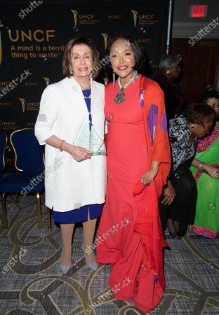 (L-R) Nancy Pelosi and Lynn Whitfield