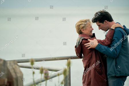 Annette Bening as Grace and Josh O'Connor as Jamie