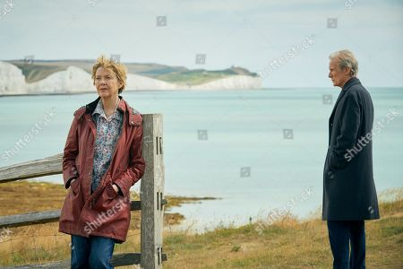 Annette Bening as Grace and Bill Nighy as Edward